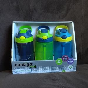 Kids 3-pack Contigo Water Bottles
